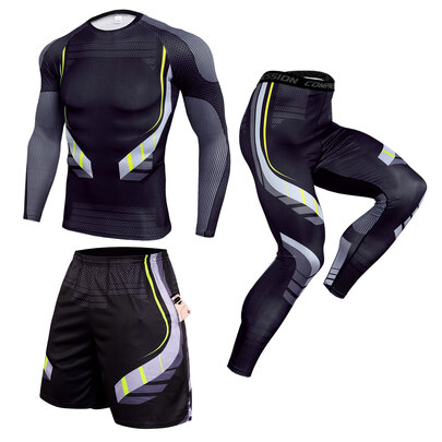 3 in 1 black workout sweat suit for mens cycling jersey