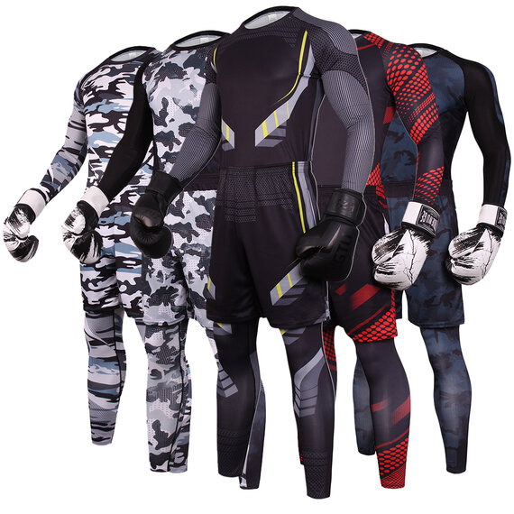 3 in 1 active wear suits for mens yellow